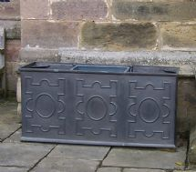 Triple Panel Traditional Cistern