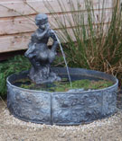 Piping Pan Fountain with Georgian Cistern